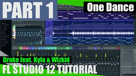 tutorial dance florida drake feat wizkid kyla one dance fl studio tutorial
