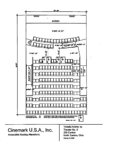 Small Home Plans seating plan for tinseltown 15 north canton ohio