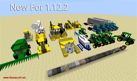 minecraft dump truck heavy machinery mod 1 12 2 1 8 9 realistic tonka trucks