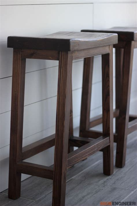 counter height bar stool diy bar stools diy stool