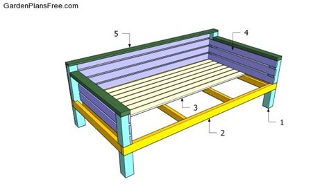 building a daybed daybed plans free garden plans how to build garden