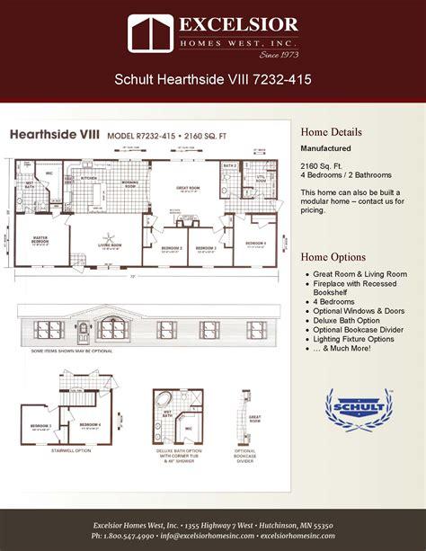 schult floor plans 28 images schult hearthside viii schult hearthside viii excelsior homes west inc