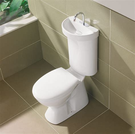 toilet with integrated basin digsdigs