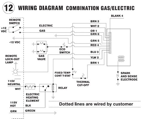 gas water heater wiring diagram images wiring