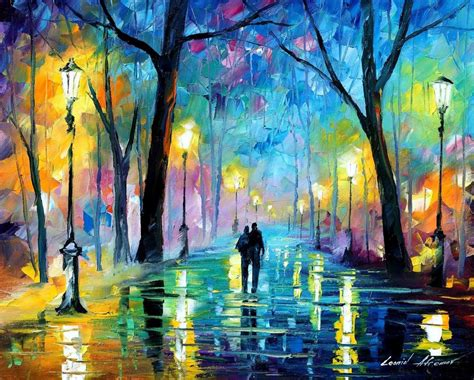 cool paintings leonid afremov oil on canvas palette knife buy original