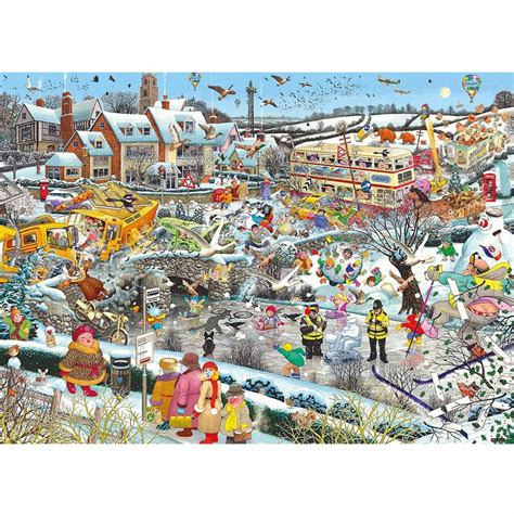 printable winter jigsaw puzzles i love winter 1000 piece puzzle gibsons from