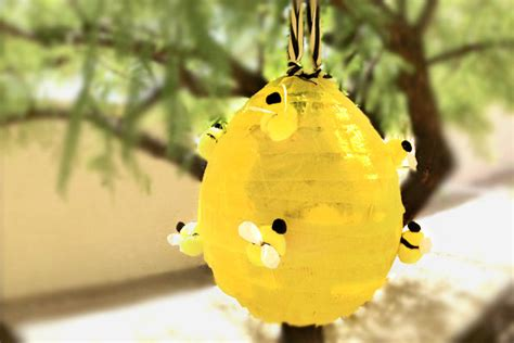 How To Make A Paper Beehive - beehive pinata box play for