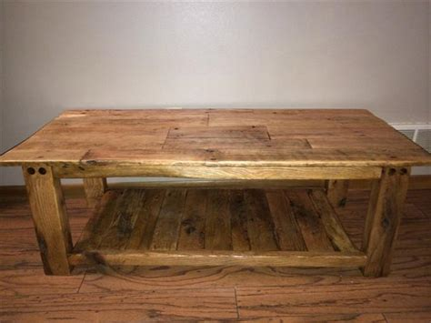 Rustic Pallet Coffee Table Wood Pallet Coffee Table Ideaforgestudios