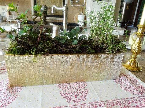 Kitchen Herb Garden Design by Stylish Mini Kitchen Herb Garden La Famiglia Design Blog