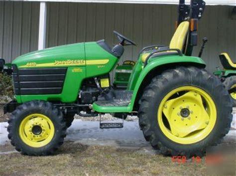 john deere 4410 utility tractor