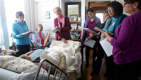 dying at home home vigil honors a s last wish minnesota