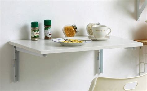 wall mounted drop kitchen table wall mounted dining table