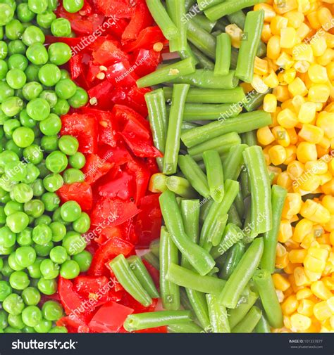 wallpaper frozen vegetables mixed vegetables background stock photo 101337877