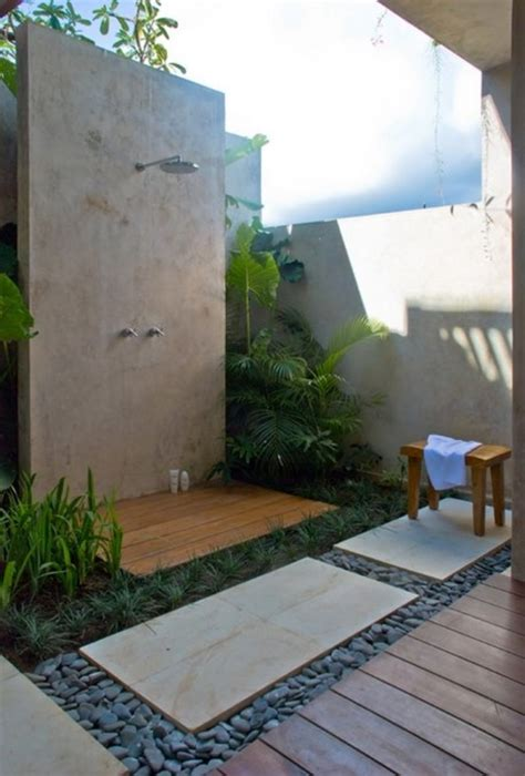 outdoor bathroom ideas 30 outdoor bathroom designs home design garden