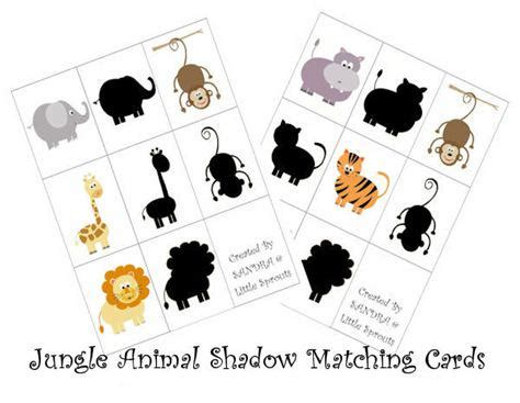 animal pattern games jungle animal silhouette matching