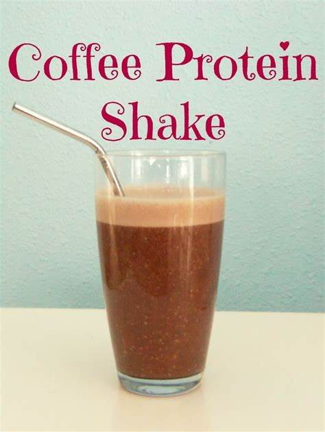 Protein Coffee coffee protein shake food snacks drinks