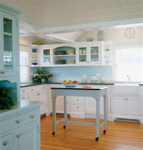 Blue Kitchen Decorating Ideas by 5 Ideas To Run A Blue Kitchen Decorating Project Modern