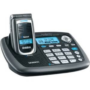best home phone system uniden elbt595 5 8ghz cordless phone bluetooth capability