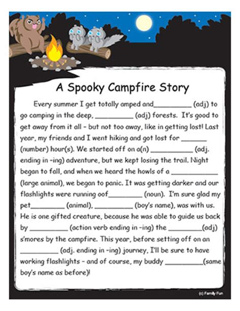 printable children s ghost stories from the heart up free printable games for kids