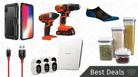 wednesday s best deals iphone x accessories security