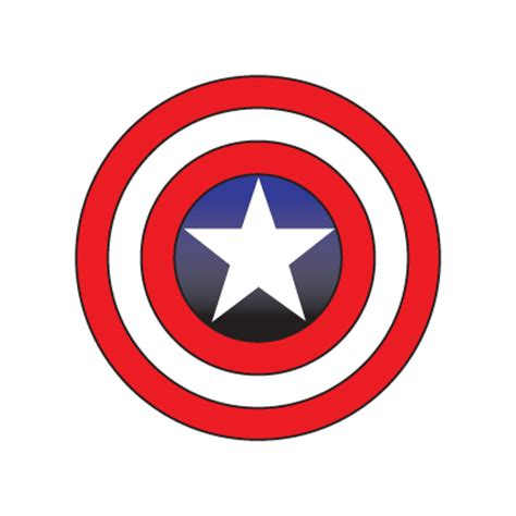 captain america logo vector in (.eps, .ai, .cdr) free download