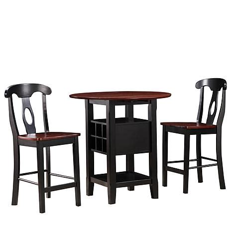 home origin 3 bistro set 7291017 hsn