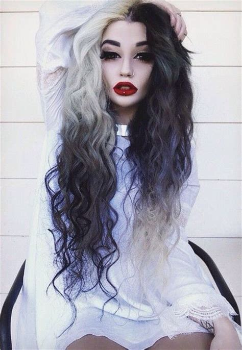 awesome hairstyles and colors awesome hair hairspray pinterest