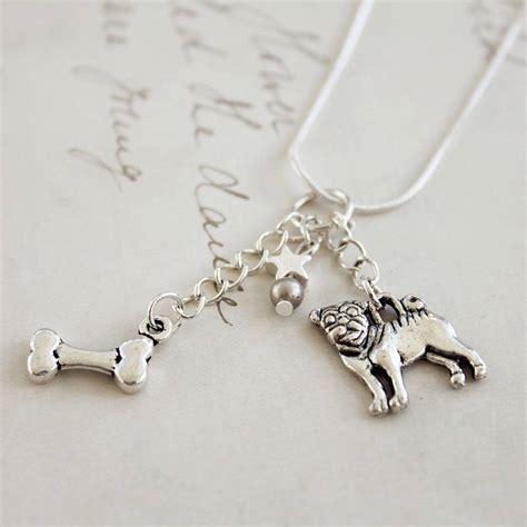 pug necklace a pug necklace by zamsoe notonthehighstreet