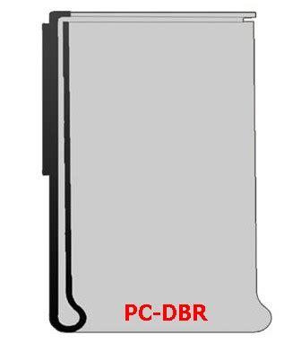 portaprezzi per scaffali profilo portaprezzi per scaffalatura pc dbr 52 con