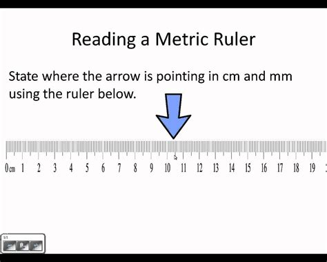 how do you read reading a metric ruler wmv