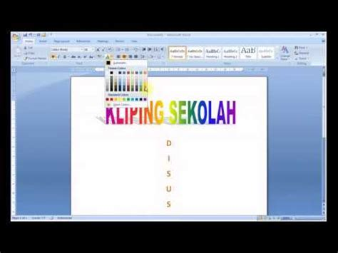 cara membuat cover makalah di microsoft word 2007 susunan daftar isi makalah pkn gameonlineflash com