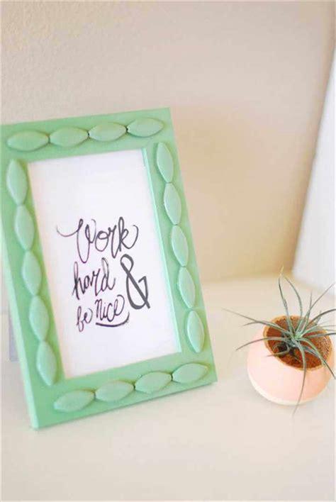 diy photo crafts 32 easy best diy picture frame crafts diy to make