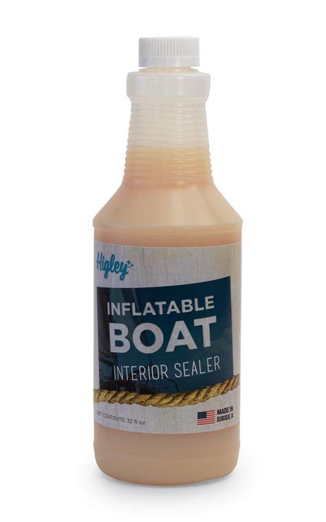 inflatable boat leak sealer interior sealer higley