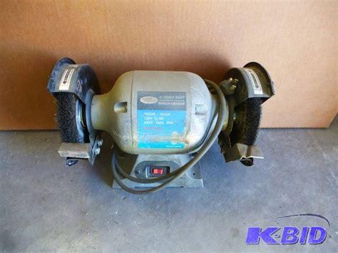 powercraft bench grinder power craft bench grinder ncs wasp liquidation rvs