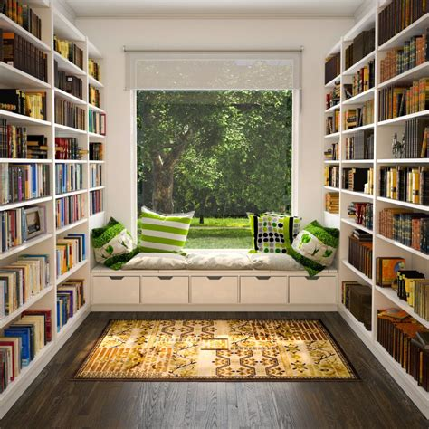 house nook creating a home library that s smart and pretty