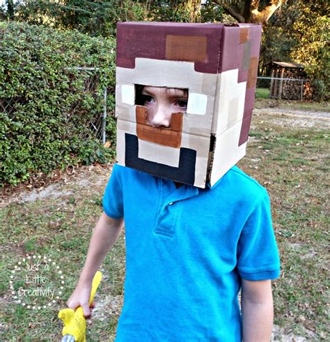 easy minecraft costume fun family crafts