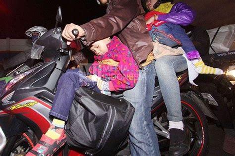Kursi Bonceng Anak Nmax seperti ini jadinya ketika mudik kurang perhatikan anak