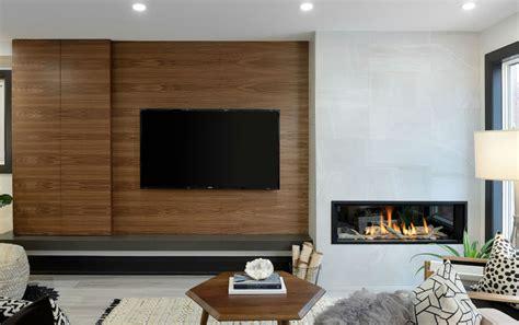Fireplace Oakville by Oakville Modern Wallunit Fireplace