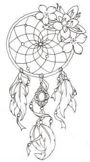 Tatto Vorlagen Muster Traumf 228 Nger Vorlage Mit Federn Und Blumen Vorlagen