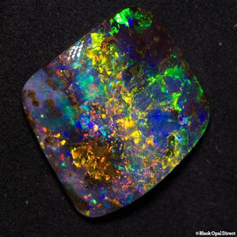 Black Opal Bledug Bouder Opal 15 83 ct gem boulder opal 19x17x6mm black opal direct