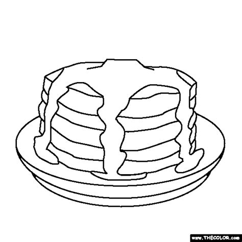 pancake coloring pages if you give a pig a pancake coloring pages coloring home
