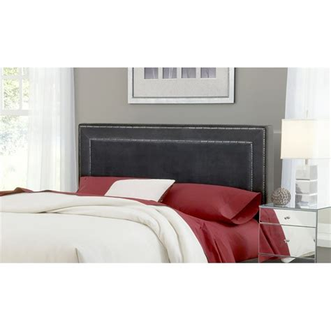 pewter headboards hillsdale amber upholstered queen panel headboard in