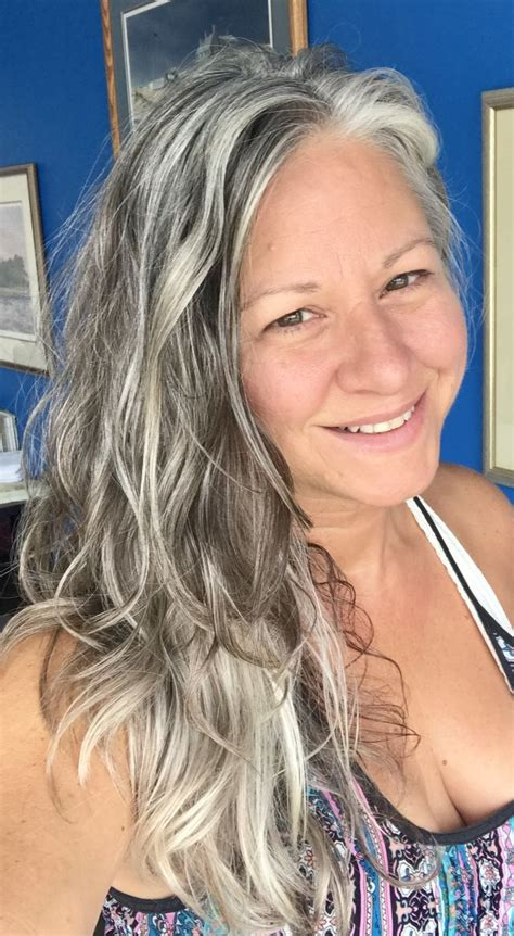 Best 20  Gray Hair Highlights ideas on Pinterest   Gray
