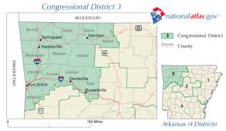 arkansas congressional district 3 rep map current 110th