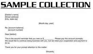 Collections Letter Template For Business Collection Letter 3000 Collection Letter Example