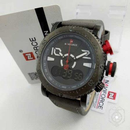 Jam Tangan Pria Naviforce Original Stainless Garansi 1 Thn jam tangan naviforce time iii original