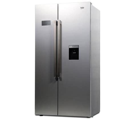 Fridge Freezers American Style No Plumbing by Buy Beko Asd241s American Style Fridge Freezer Silver Dfn05x10s Size Dishwasher