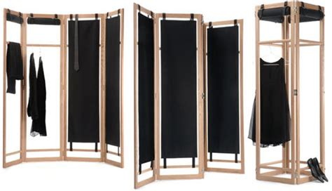 Clothing Size Dividers For Racks by Configurable Screen Can Act As Divider Clothes Rack And