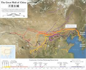 Great Wall Of China Map following the great wall of china edsitement