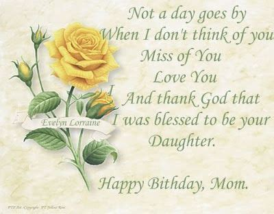 happy birthday quotes for my mom in heaven image quotes at